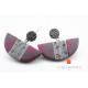 Boucles d'oreilles Purple Touch
