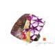 Parure pendentif et bague purple star
