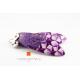 Boucles d'oreilles Purple Stars