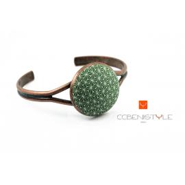 Bracelet Green stars